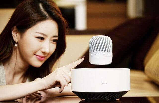 LG Multi-Functional Bluetooth Speaker PJ9
