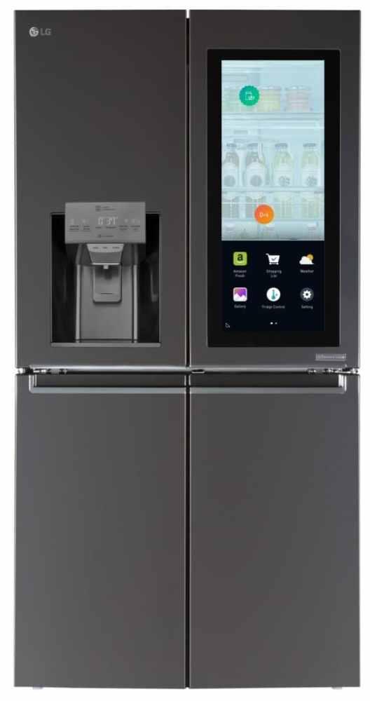 LG Smart Instaview alexa 528x1000 - LG lança geladeira que deixa você espiar o que tem dentro pelo smartphone