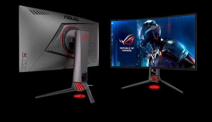 Monitor ASUS ROG 1 720x414 - ASUS anuncia monitor gamer Swift PG27UQ 144Hz com tecnologias 4K e HDR