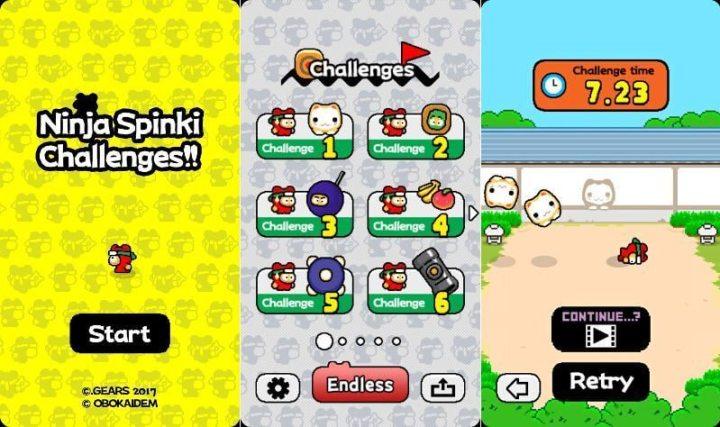 Ninja Spinki Challenges 720x427 - Criador de Flappy Bird lança novo jogo para iOS e Android; confira!