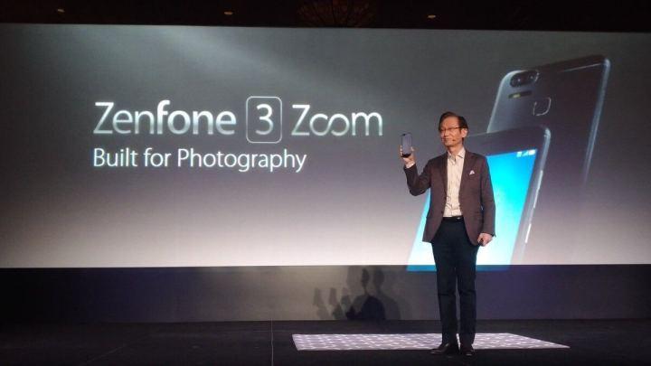 Zenfone 3 Zoom 1 720x405 - ASUS apresenta 2 novos smartphones na CES 2017
