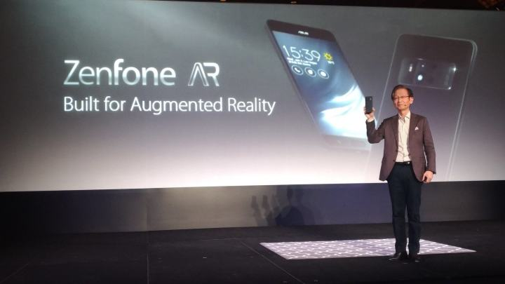 Zenfone AR 720x405 - ASUS apresenta 2 novos smartphones na CES 2017