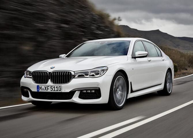 bmw serie 750 - BMW e Intel se unem para testar carros autônomos ainda este ano