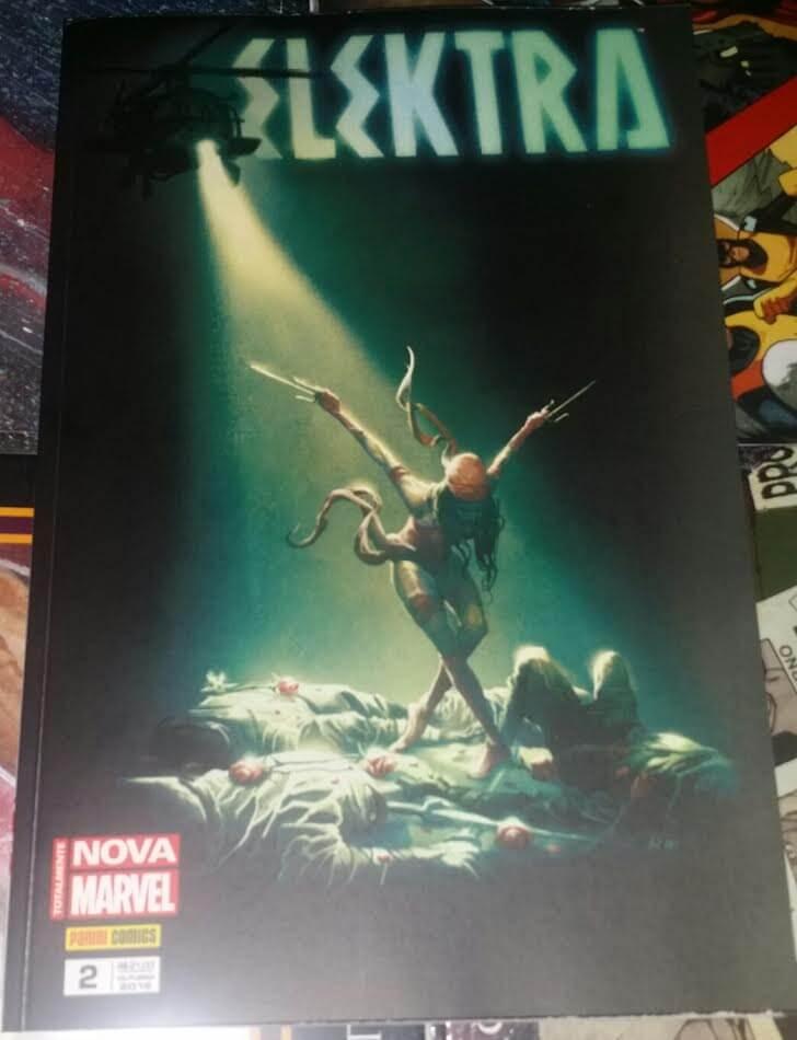 elektra capa - Dica de HQ: Elektra #2 - Dança da Morte (Totalmente Nova Marvel) - Review