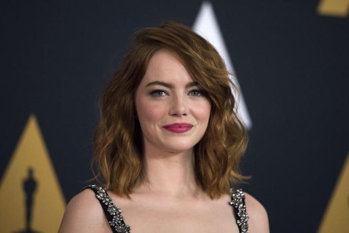 A bela Emma Stone está concorrendo em La la Land (Foto: reprodução / VALERIE MACON/AFP/Getty Images)