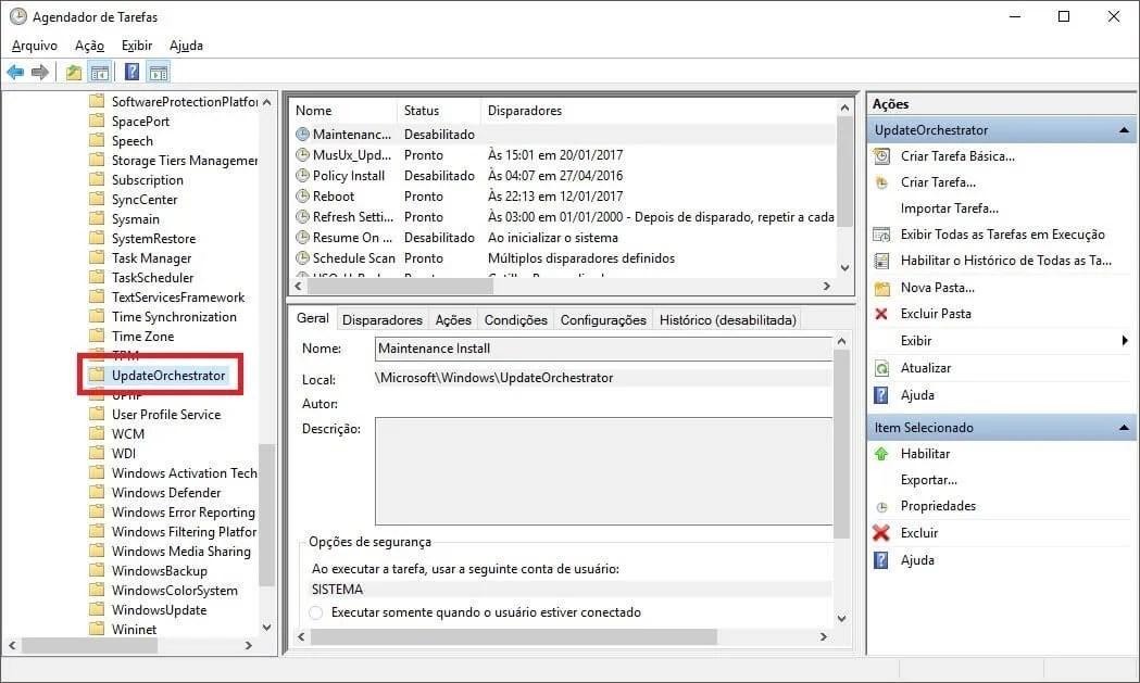 03 - Dica: como desabilitar as reinicializações automáticas no Windows 10