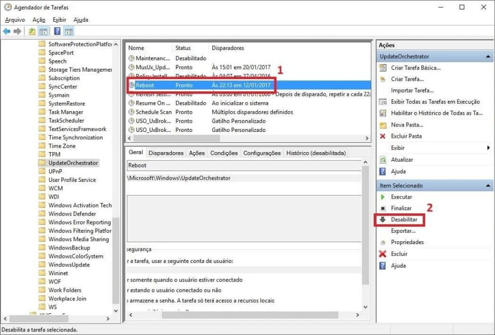 04 - Dica: como desabilitar as reinicializações automáticas no Windows 10