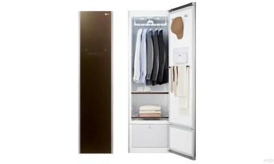 LG Styler Clothing Care System 2015 new - LG Styler quer, e consegue, ser um guarda-roupas inteligente
