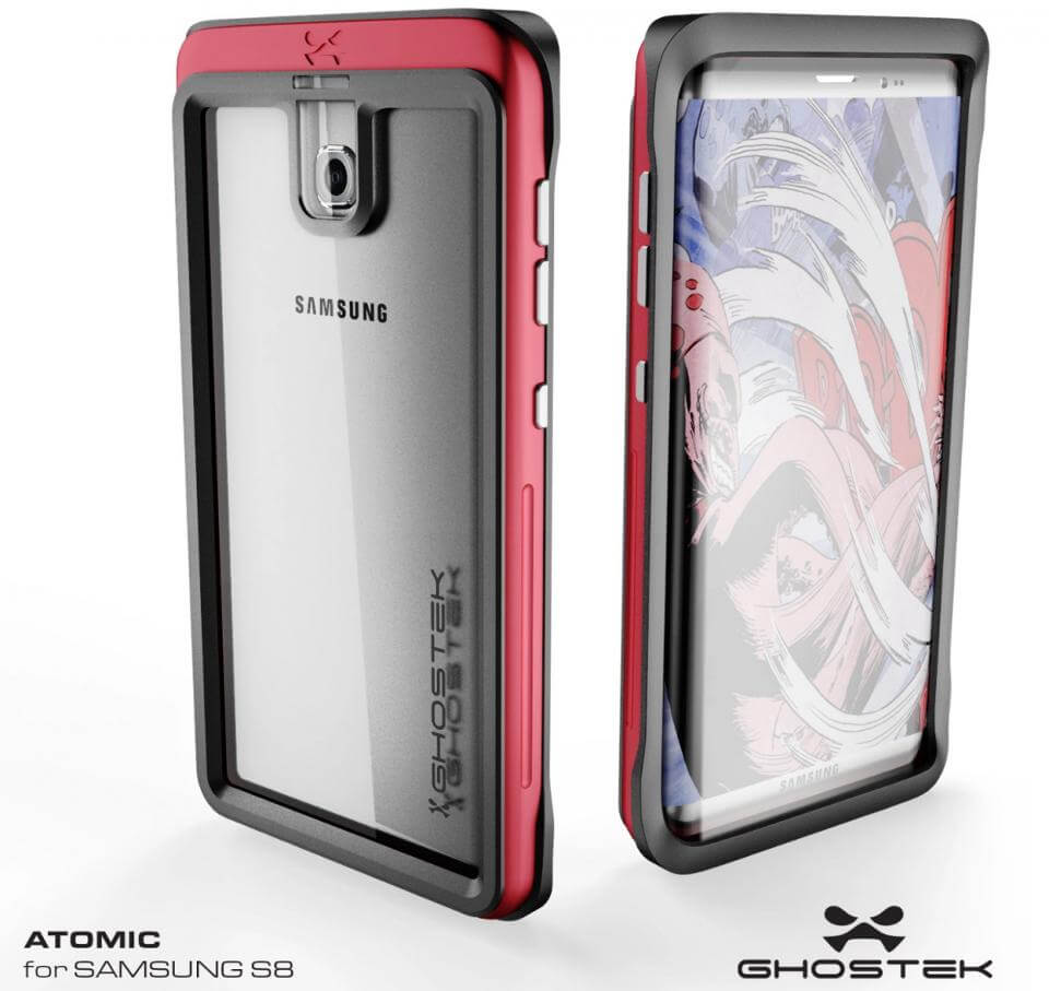 Matching Galaxy S8 case render from Ghostek Image credit Ghostek - VAZOU: Tudo o que sabemos sobre o Galaxy S8