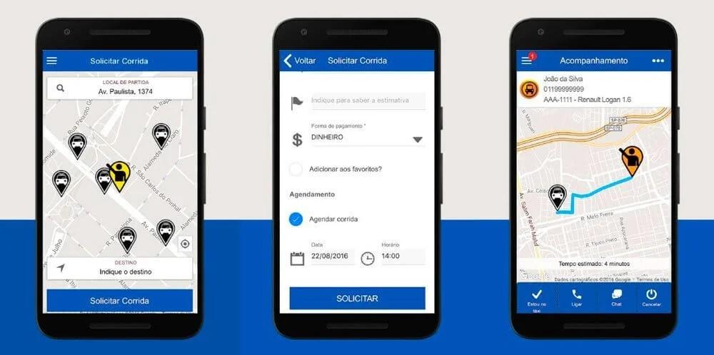 TaxiGov para Android