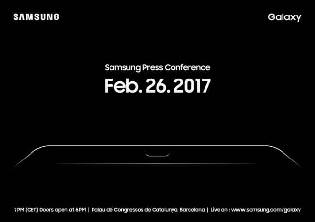 samsung mwc 2017 invite korea herald - Samsung pode mostrar o Galaxy S8 na MWC 2017, mas sem anunciá-lo oficialmente