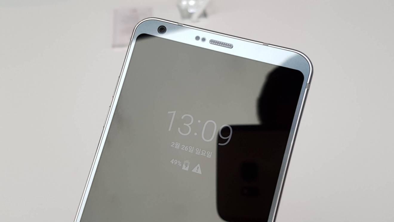 LG G6 é lançado na Mobile World Congress 18