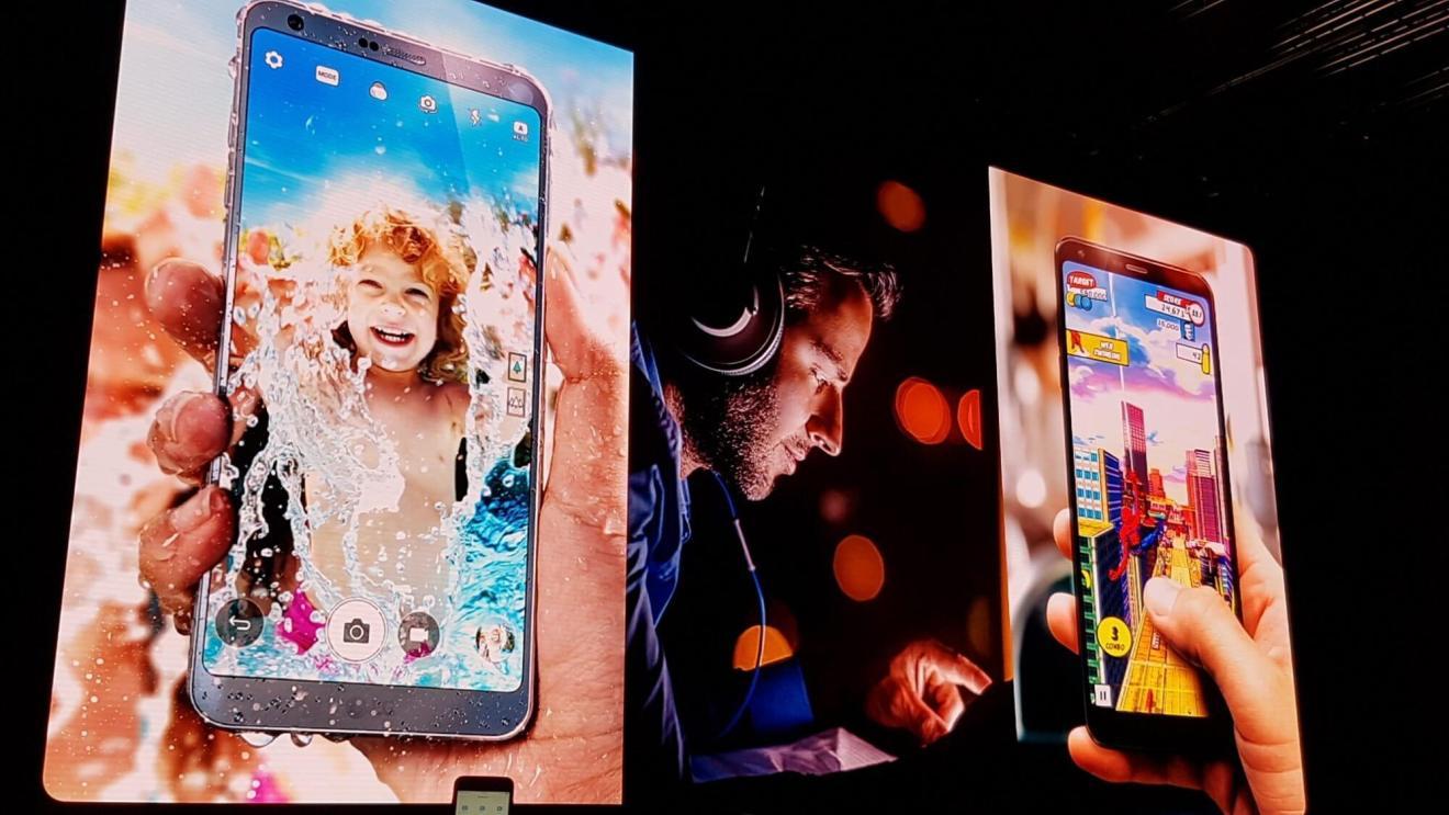 LG G6 é lançado na Mobile World Congress 9
