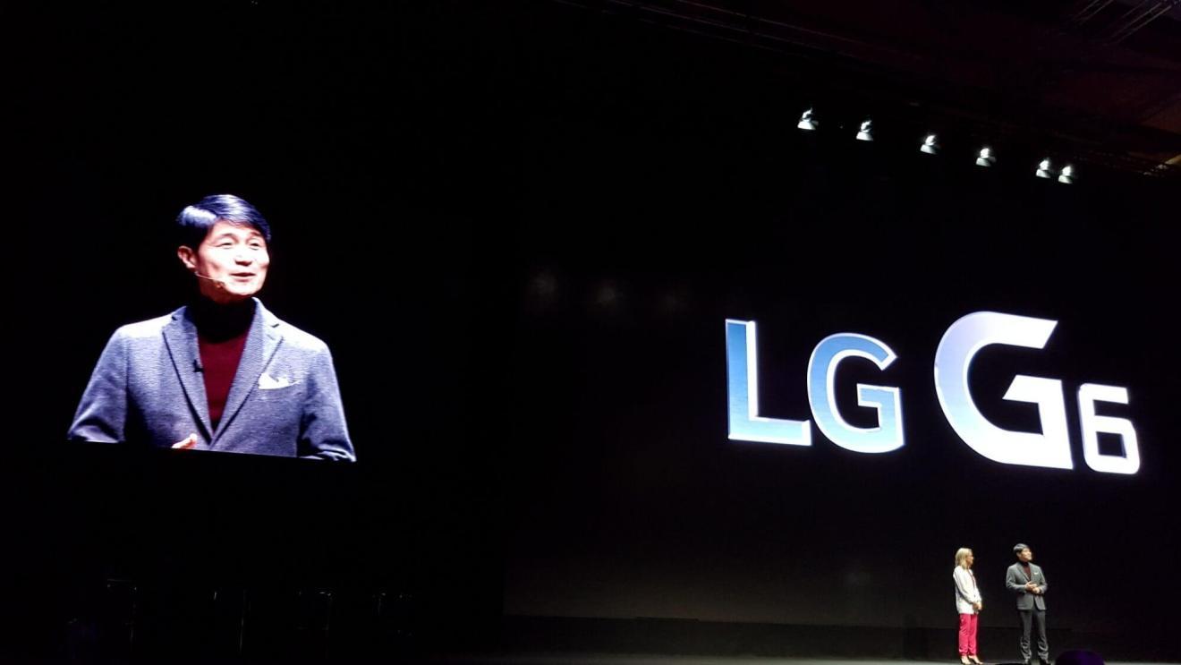 LG G6 é lançado na Mobile World Congress 6