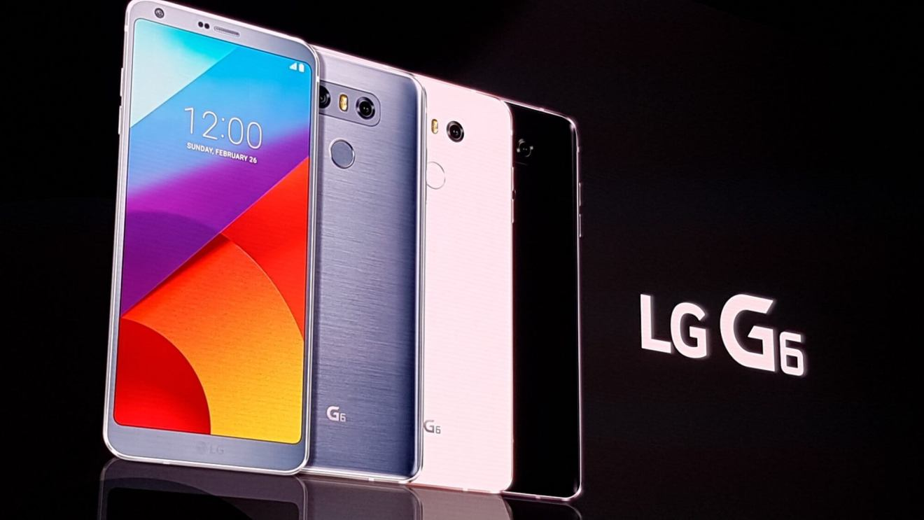 LG G6 é lançado na Mobile World Congress 8