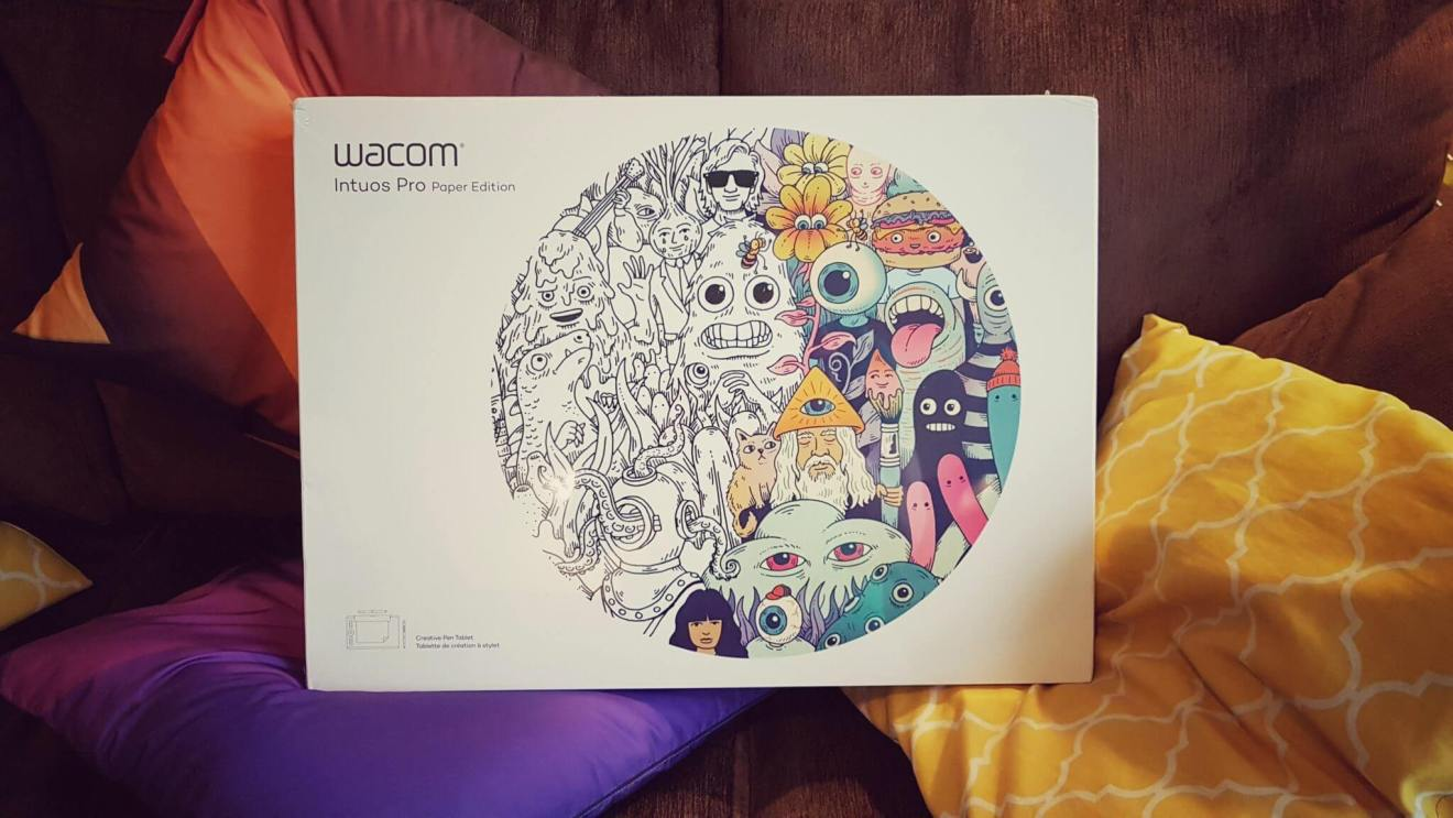 Mesa Digitalizadora Wacom Intuos Pro Paper Edition