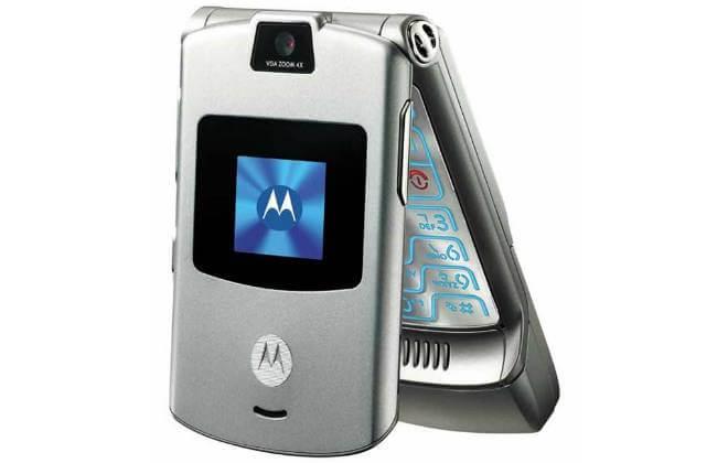 Motorola V3, um clássico