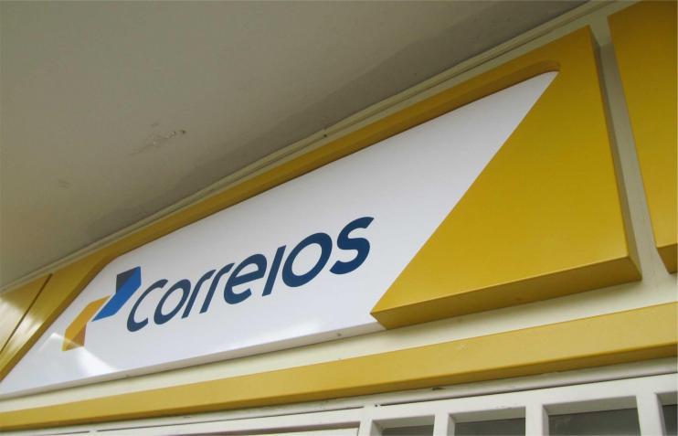 correios nova fachada chapa galvanizada com pintura automotiva digital sign 3 720x463 - Veja como funciona e como contratar a operadora dos Correios