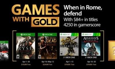games with gold april 2017 - Games with Gold: jogos grátis na Live para abril de 2017