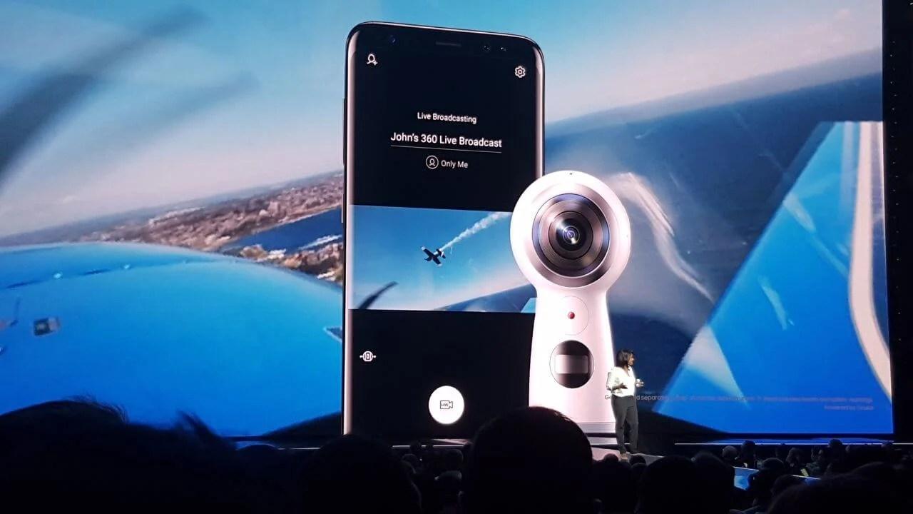 Samsung anuncia novo Gear 360 em evento do Galaxy S8