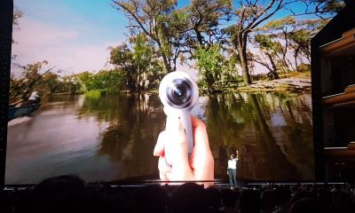Samsung anuncia novo Gear 360 em evento do Galaxy S8