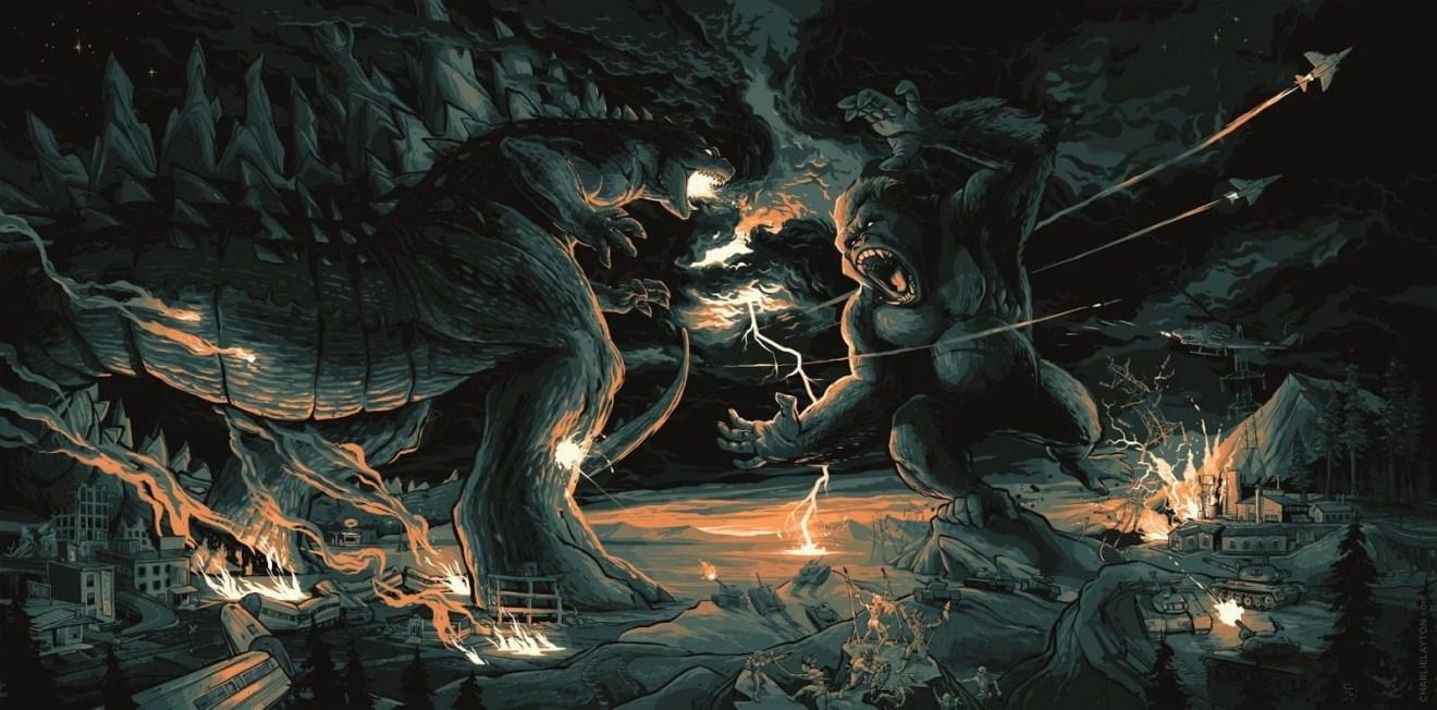 "godzilla vs kong - HQ contará a origem do primata de ""Kong: A Ilha da Caveira"""