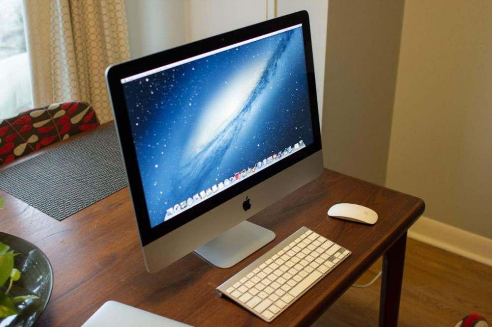 imac front angle - Nova atualização da linha iMac deve vir ainda este semestre