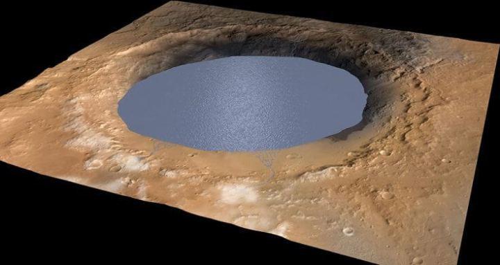 """Pesquisadores sugerem que """"água"""" encontrada em marte é, na verdade, areia e ilusão de ótica"""