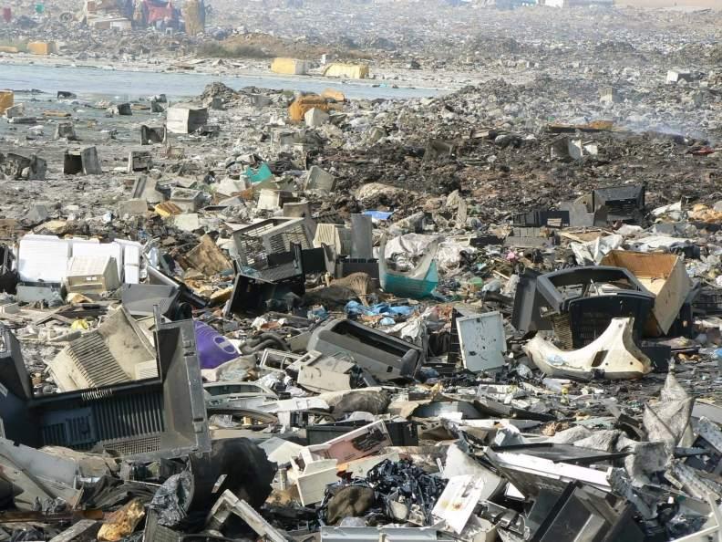 poluição e-waste