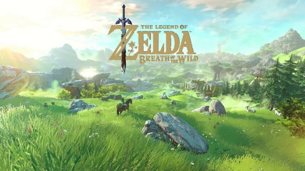 "zelda breath of the wild cenario - Sem mais espera! ""The Legend of Zelda: Breath of the Wild"" chega para Nintendo Switch"