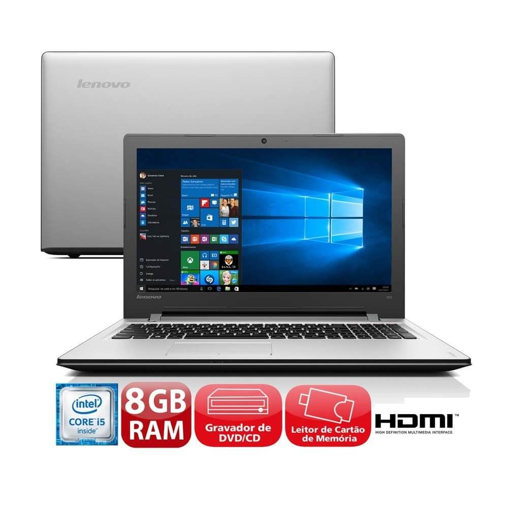 "Presente para o dia das mães: Notebook Lenovo 310 Intel Core i3 6100U 15,6"" 4GB HD 1 TB"
