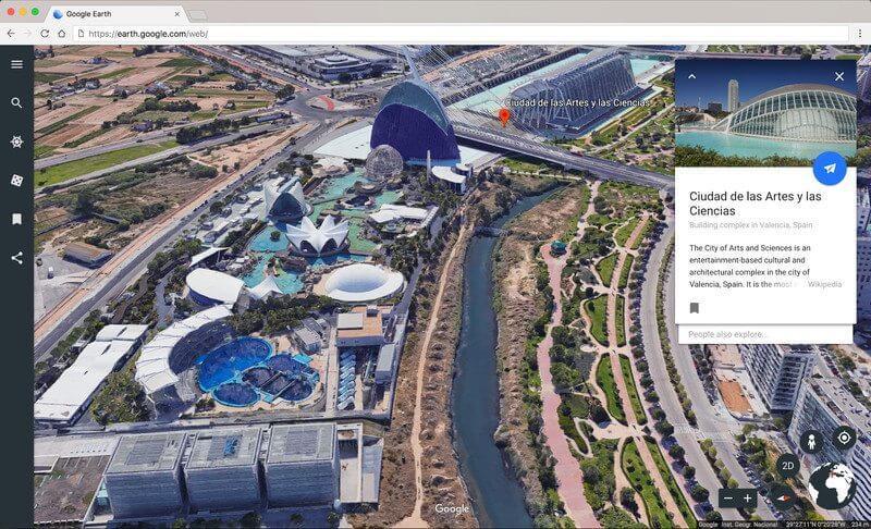 É lançada a nova versão do Google Earth