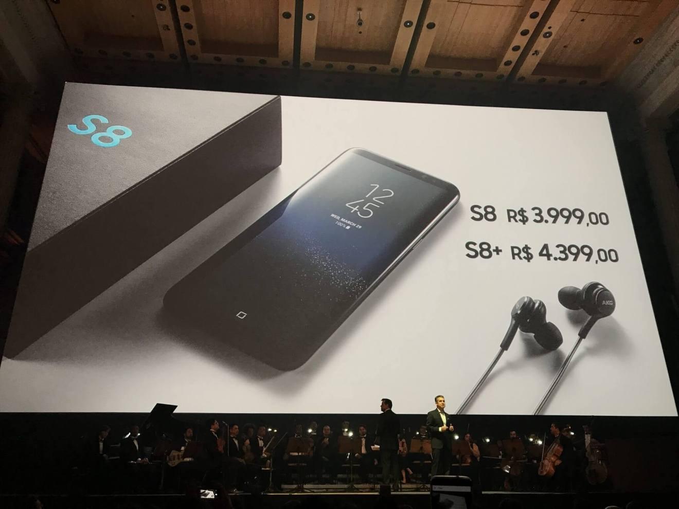 IMG 1875 - Galaxy S8 e S8+ chegam ao Brasil. Confira tudo sobre eles