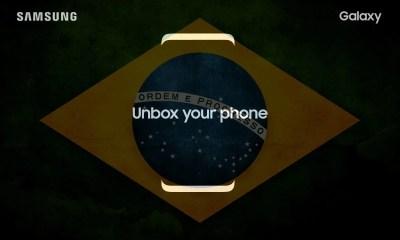 Samsung marca evento para o Galaxy S8 e S8+ no Brasil