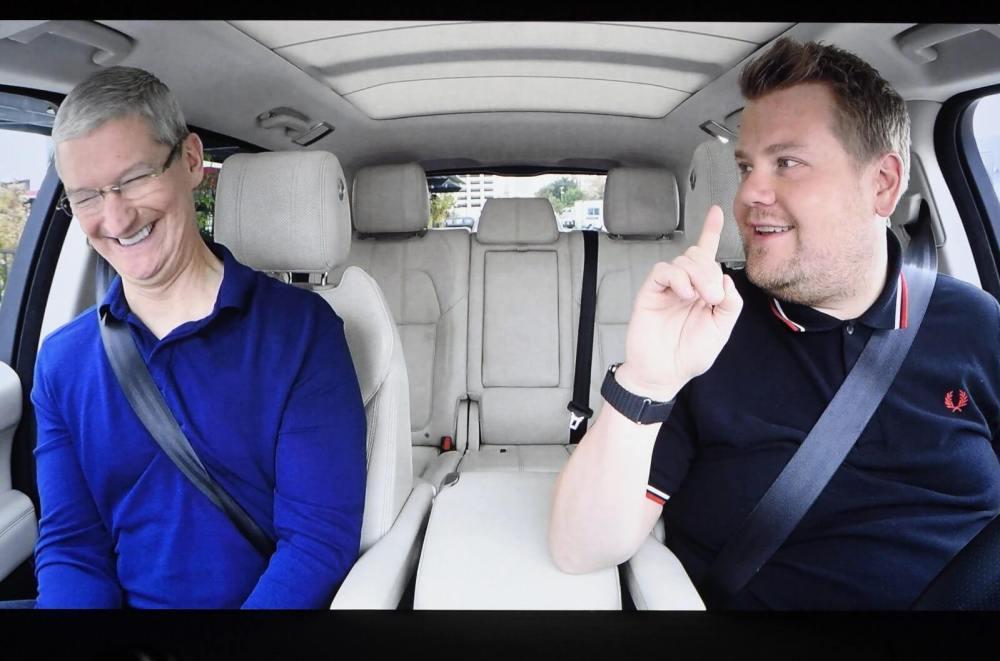 Série original do Apple Music, Carpool Karaoke, atrasa mas chega ainda este ano