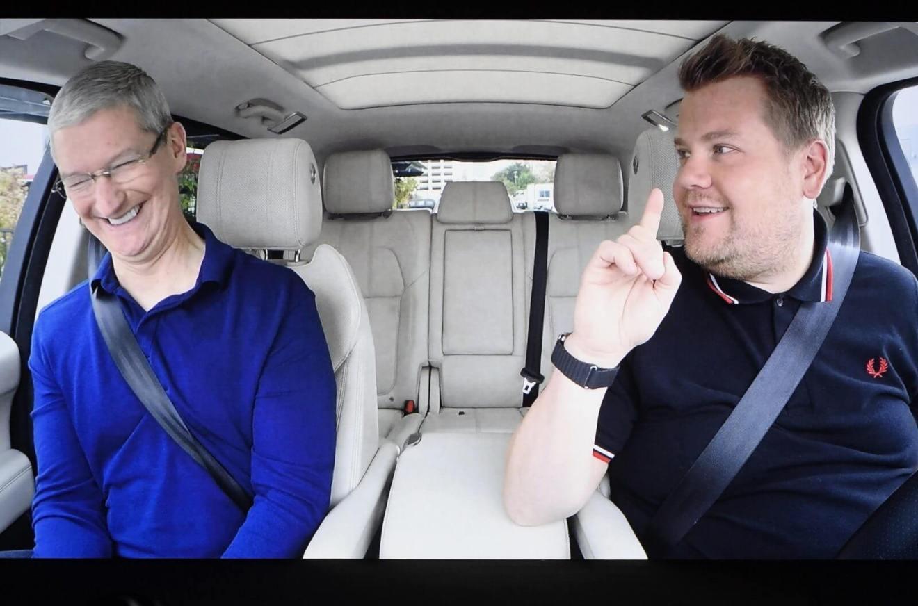dims - Lançamento da série original do Apple Music, Carpool Karaoke, atrasa mais uma vez