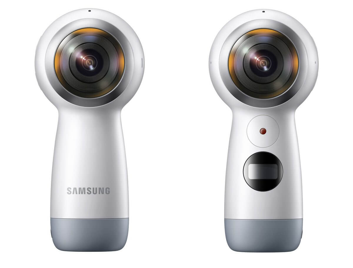 samsung gear 360 2017 - GoPRO ou câmeras que gravam em 360 Graus?