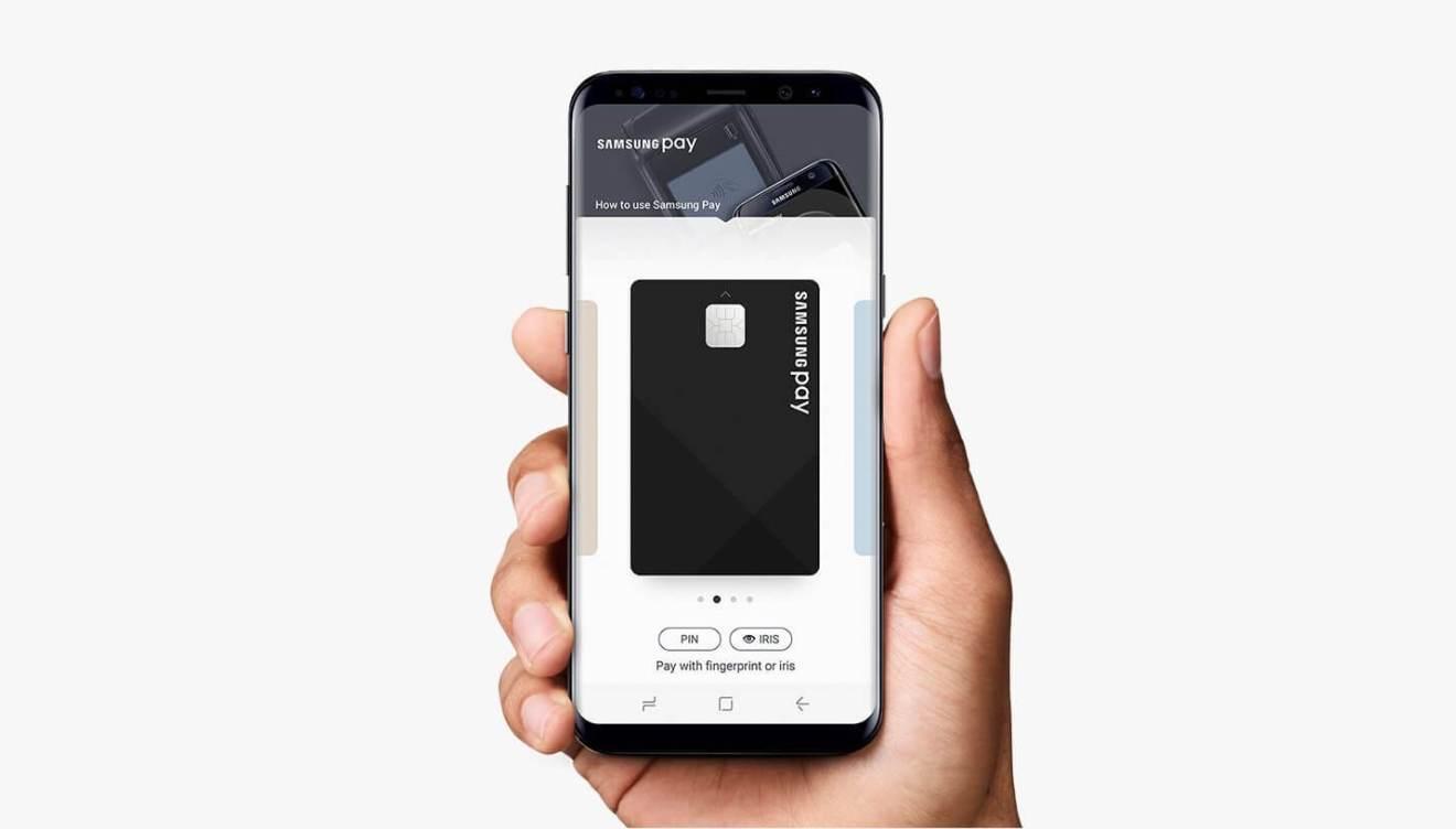 samsung pay galaxy s8 - REVIEW: Galaxy S8 e S8+ representam elegância e sofisticação