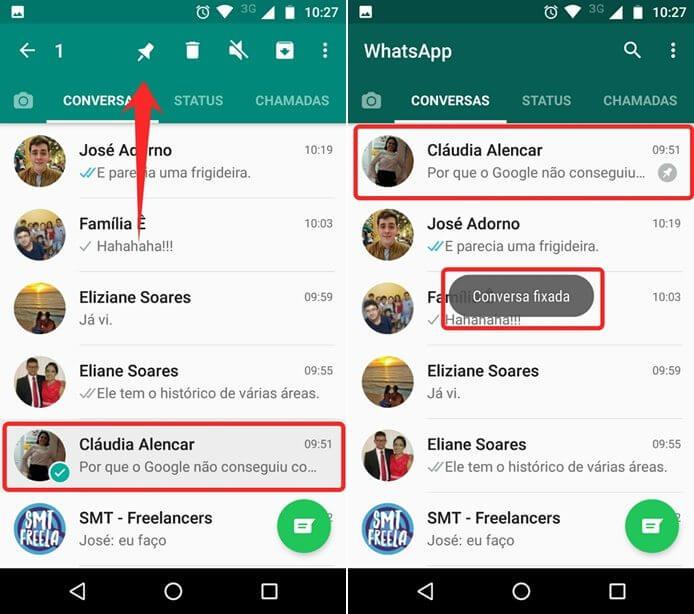 1495201047388 horz - WhatsApp: Fixe as conversas mais importantes no topo da tela