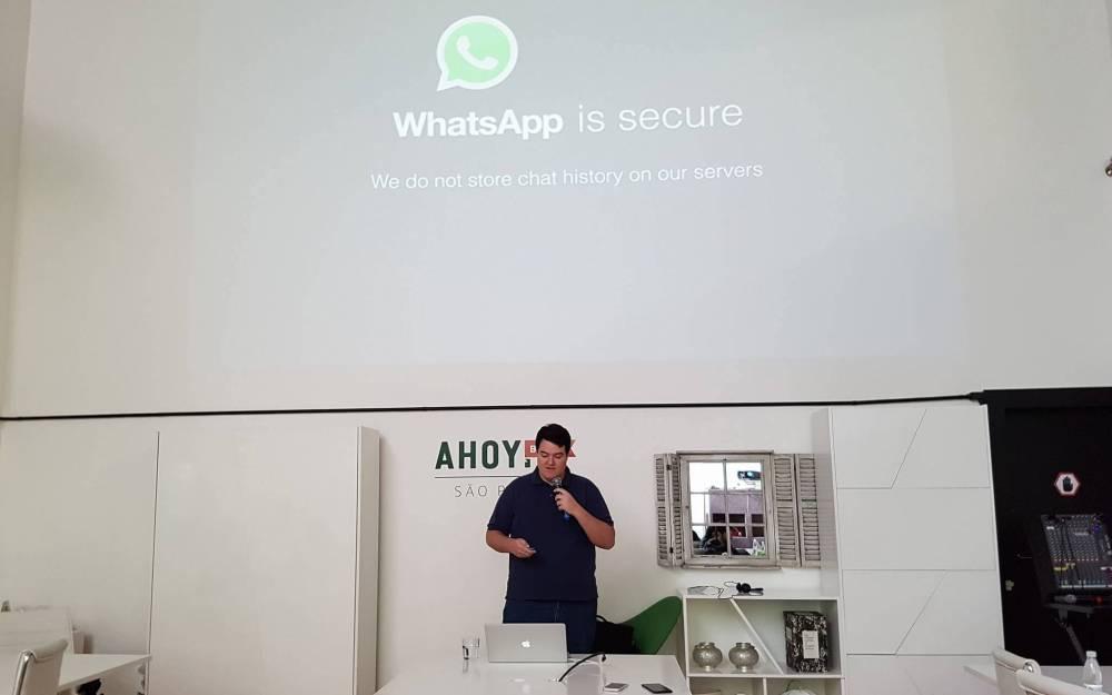 18869971 10207351544306903 1173264244 o - WhatsApp faz primeiro evento no Brasil e fala sobre criptografia