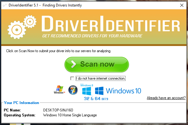 Drivers - Driver Identifier