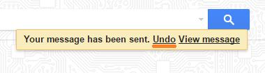Desfazer envio no Gmail