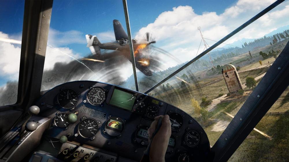 FC5 Screenshot Plane - Far Cry 5 recebe trailer, data de lançamento e história