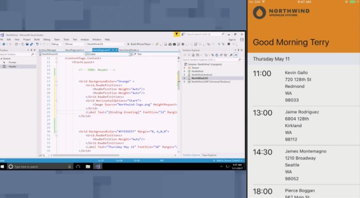 Microsoft Xamarin Live Player 720x397 - Build 2017: conheça tudo o que já foi anunciado pela Microsoft