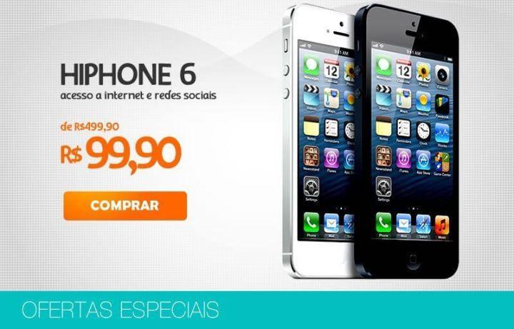 A venda de celulares piratas, como o HiPhone 6, ficará bem mais difícil