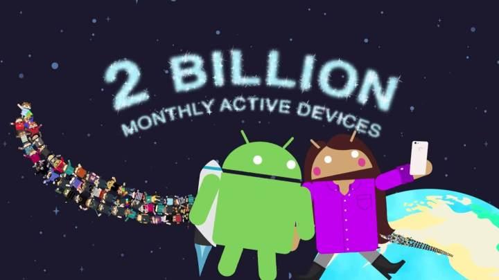 android 2 billion 2 720x405 - Android é o sistema mais popular do mundo e aparelhos chineses disparam