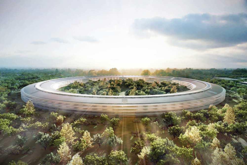 apple escritorio futuro projeto - Empresas de tecnologia começam a montar verdadeiros escritórios do futuro