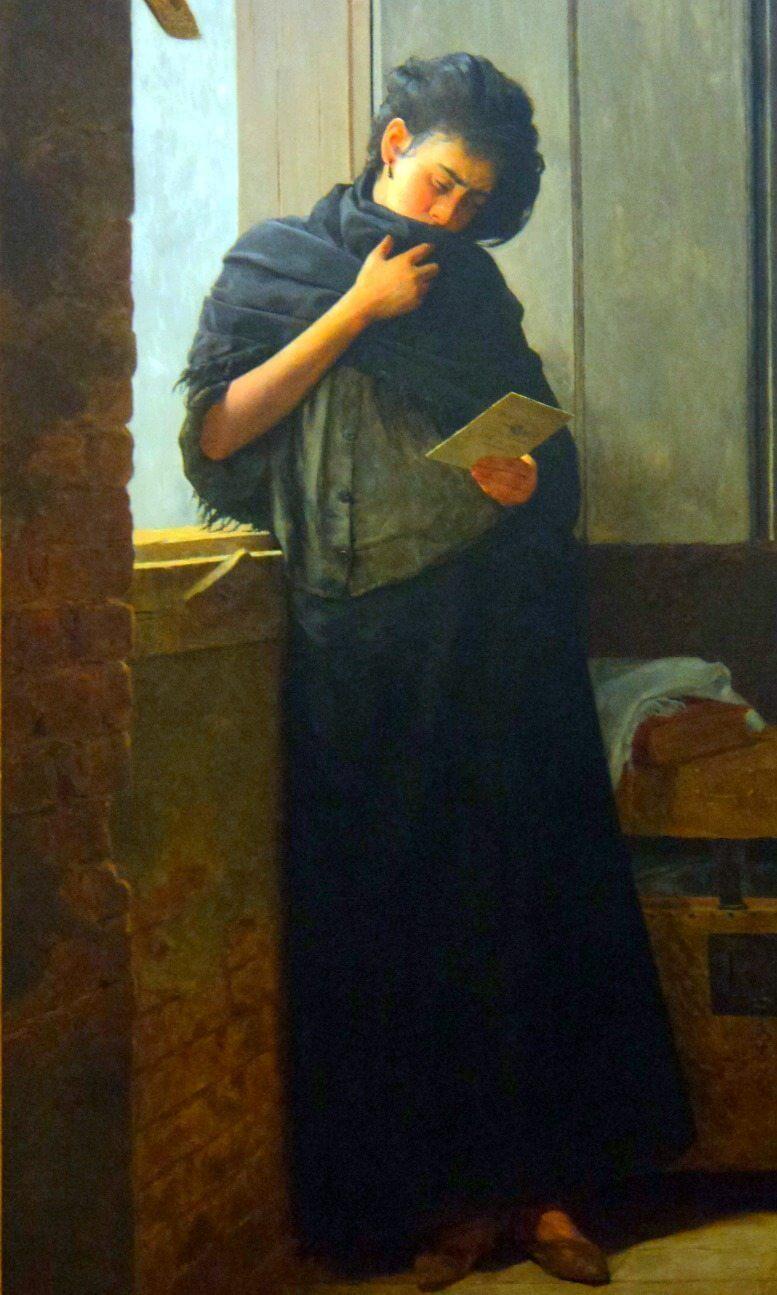 Saudade, de Almeida Junior (1899)