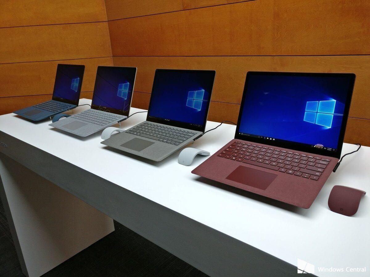 surface laptop photo - Microsoft anuncia o Surface Laptop com Windows 10 S