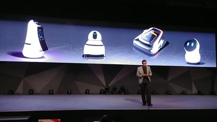 LG InnoFest Hub Robot
